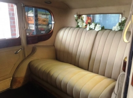 Rolls Royce wedding car for hire in Bournemouth